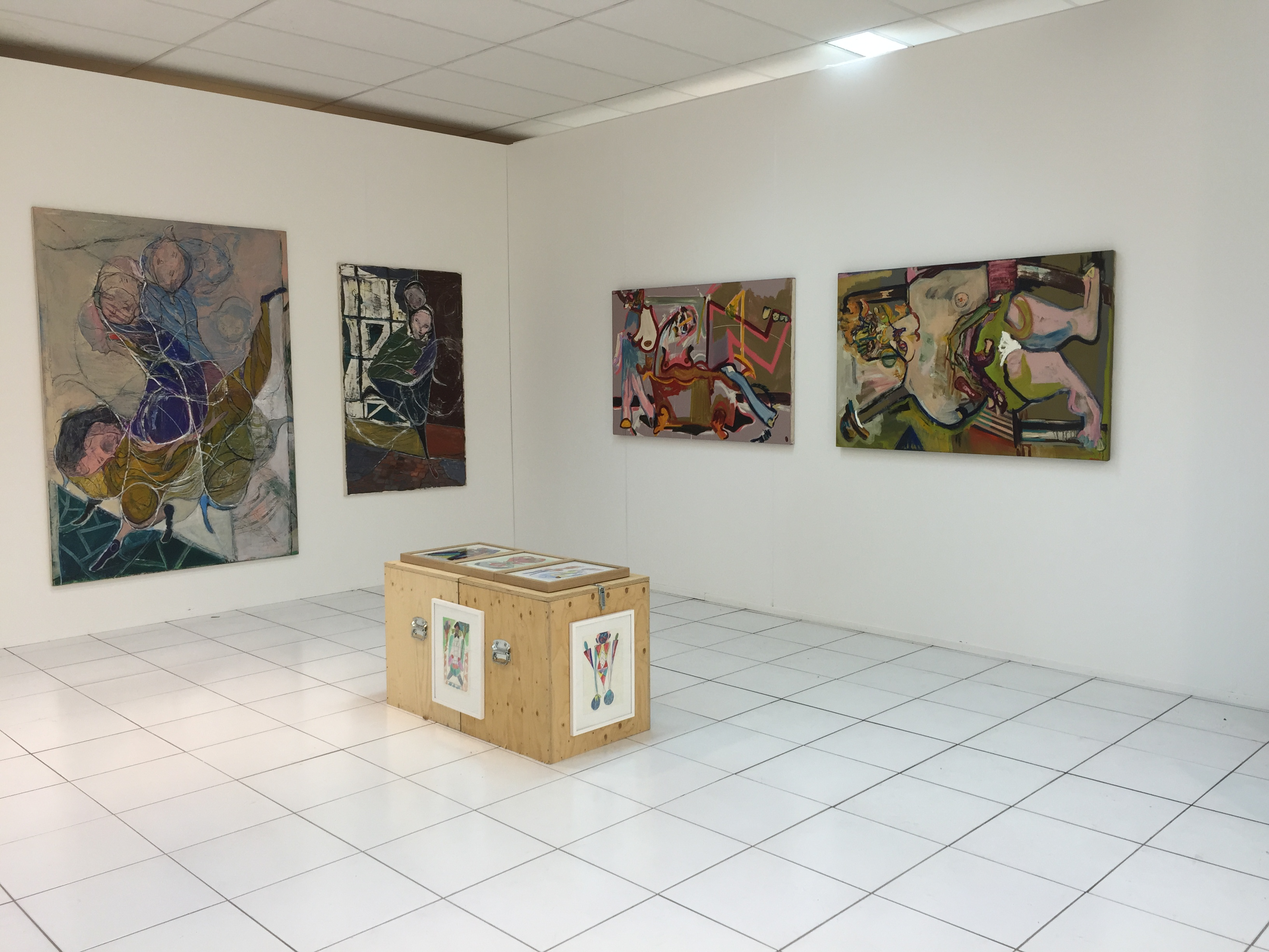 Exhibition view AAF 2015 - Ornis A. Gallery 8