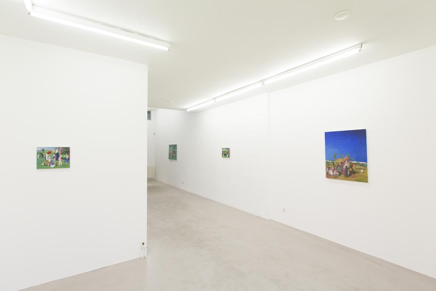 Jan Knap - Recent works, 2016 exhibition view at Ornis A. Gallery, Amsterdam