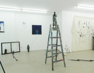 Marco den Breems - Loss in control (exhibition view at Ornis A. Gallery, Amsterdam, 2014)
