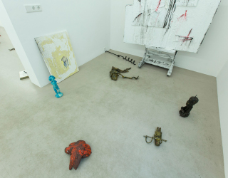 Marco den Breems - Loss in control, 2014 (exhibition view at Ornis A. Gallery, Amsterdam)
