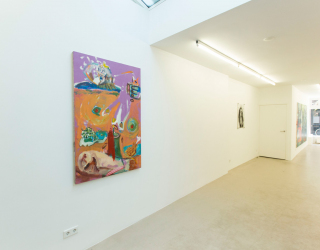First Blossom - Group exhibition, 2014 (exhibition view Ornis A. Gallery, Amsterdam)