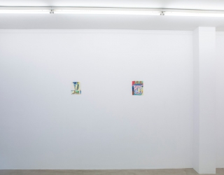 Mirjam Jacob - In the little bay (exhibition view Ornis A. Gallery, Amsterdam, 2013)