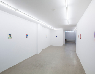 Mirjam Jacob - In the little bay, 2013 (exhibition view Ornis A. Gallery, Amsterdam)