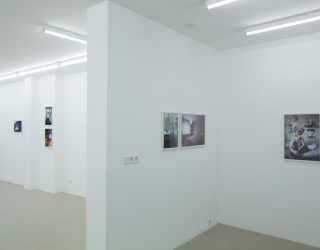 Thomas Mayer - Wohnportraits, 2014 (exhibition view Ornis A. Gallery, Amsterdam)