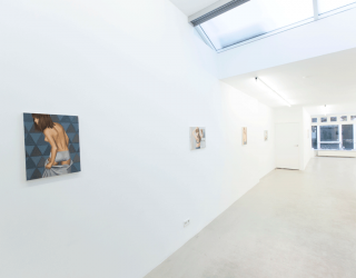 Duncan Hannah - Love in Amsterdam, 2014/2015 (exhibition view at Ornis A. Gallery, Amsterdam)