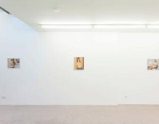 Duncan Hannah - Love in Amsterdam (exhibition view at Ornis A. Gallery, Amsterdam 2014/2015)
