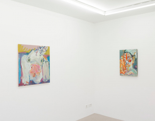 Jay Miriam, 'Blue paintings of women', 2014, Ornis A. Gallery, Amsterdam
