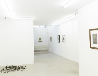 Hans Lemmen - 'A contribution to reality' & project space : new works by Mirjam Jacob (exhibition view at Ornis A. Gallery, Amsterdam, 2015)