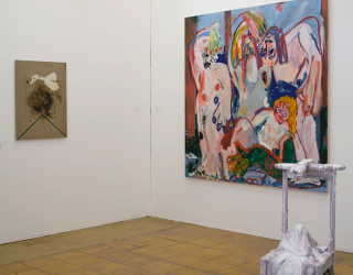 Art Rotterdam 2015, Main section - with works by Marco den Breems, Jay Miriam and Michael Bauer