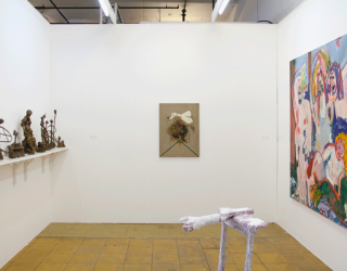 Art Rotterdam 2015, Main section - with works by Marco den Breems, Jay Miriam, Marliz Frencken and Michael Bauer