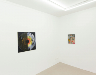 Ornis A. Gallery - German promises (invited by Armin Boehm) 2015 (exhibition view at Ornis A. Gallery, Amsterdam)