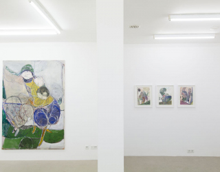 Exhibition view of 'Waldemar Zimbelmann' at Ornis A. Gallery, Amsterdam, 2015