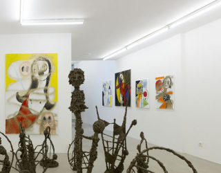 Marliz Frenkcen, Crazy woman curated by Hanne Hagenaars, 2015, (exhibition view Ornis A. Gallery Amsterdam)