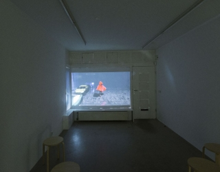 Julius Hofmann - Might of young engines (exhibition view at Ornis A. Gallery, Amsterdam, 2015)