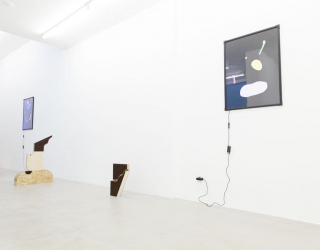 Installation view of 'What you see is what you see', Ornis A. Gallery, Amsterdam, 2016