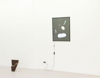 Installation view of 'What you see is what you see', Ornis A. Gallery, Amsterdam, 2016 (Bonno van Doorn and Jóhanna Kristbjörg Sigurðardóttir)