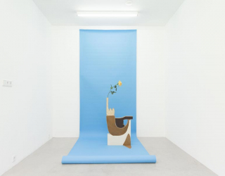 Installation view of 'What you see is what you see', Ornis A. Gallery, Amsterdam, 2016 (Jóhanna Kristbjörg Sigurðardóttir)