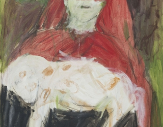 Marliz Frencken, Untitled, 1983 100 x 80 cm, oil on canvas