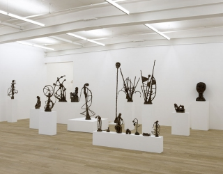 Exhibition view 'When things casts shadow' at Peter Kilchmann gallery, Zürich, 2015