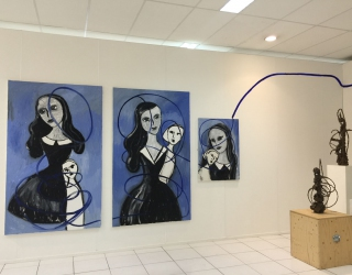 Installation view at Amsterdam Art Fair 2015 with Ornis A. Gallery, Amsterdam