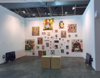 Installation view at Artissima 2015 with Ornis A. Gallery, Amsterdam