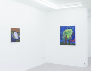 Shara Hughes - Big Intimates at Ornis A. Gallery, Amsterdam, 2016