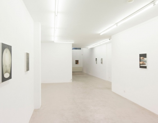 Exhibition view of Jasper Hagenaar - It looks like rain at Ornis A. Gallery, Amsterdam, 2016