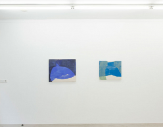 Young New Painters, 2017 (exhibition overview at Ornis A. Gallery) works by Tamina Amadyar