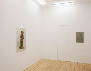 Exhibition view 'The Attic' at Jeanine Hofland gall ery, Amsterdam, 2015