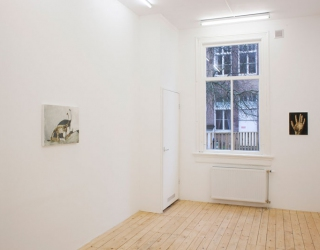 Exhibition view 'The Attic' at Jeanine Hofland gallery, Amsterdam, 2015