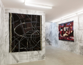Exhibition overview of Juliacks - Innards of an uprising at Ornis A. Gallery, Amsterdam