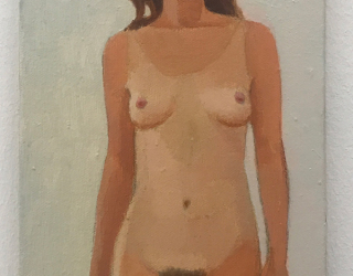 Duncan Hannagh, Summer tan, 2008, 30 x 15 cm, oil on canvas