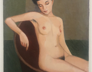 Duncan Hannah, Marie de Regnier, 2012, 36 x 25 cm, oil on canvas
