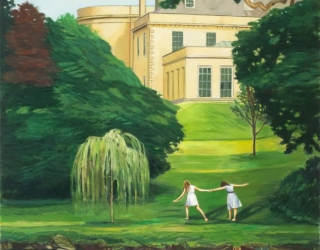 Duncan Hannah, Thames Valley, 2010, 122 x 76 cm, Thames Valley, oil on canvas