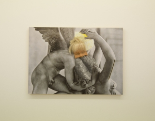 Benoît Hermans Amor en Psyche, 2012 44 x 62 cm, mixed media