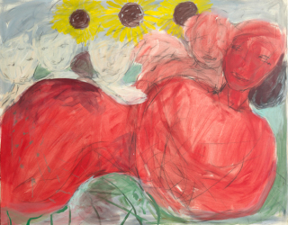 Untitled, 1983, 120 x 150 cm, oil on canvas