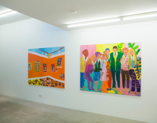 Tanja Ritterbex - Ego Show at Ornis A. Gallery, Amsterdam, 2018